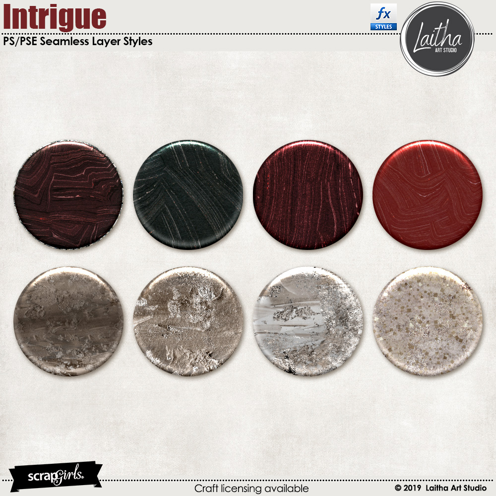 Intrigue - Layer Styles