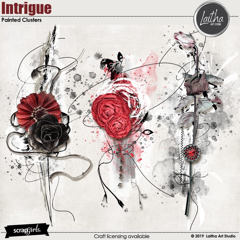 Intrigue - Painted Clusters