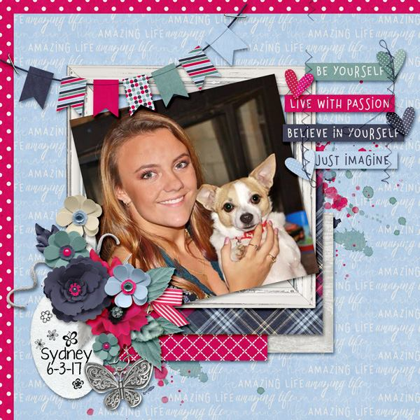 Layout by Kathryn using Amazing Life - Collection Biggie