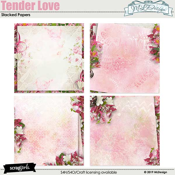 Tender Love Stacked