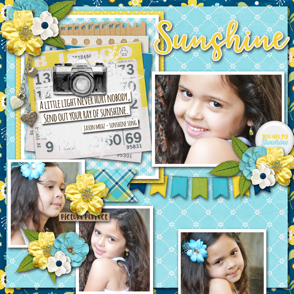 CT Layout using #2020 June by Connie Prince