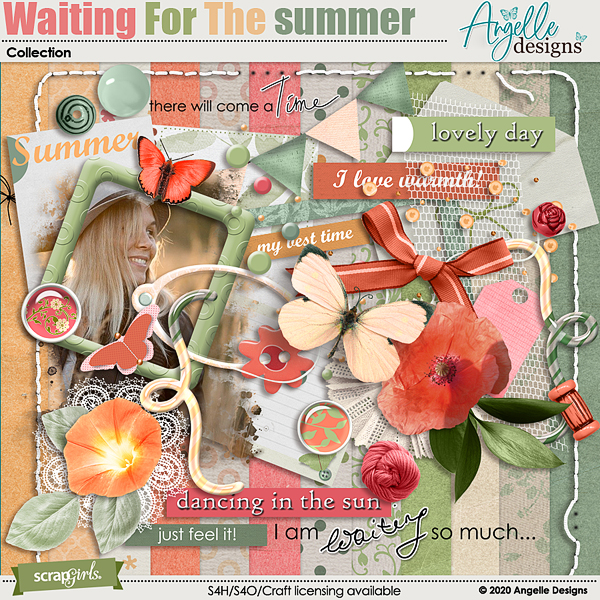 Waiting For The Summer Collection by Angelle Designs