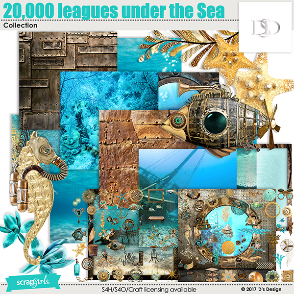 20,000 Leagues Under the Sea collection by d's design
