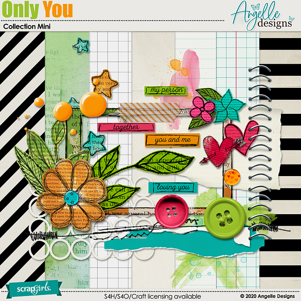 Only You Collection Mini by Angelle Designs