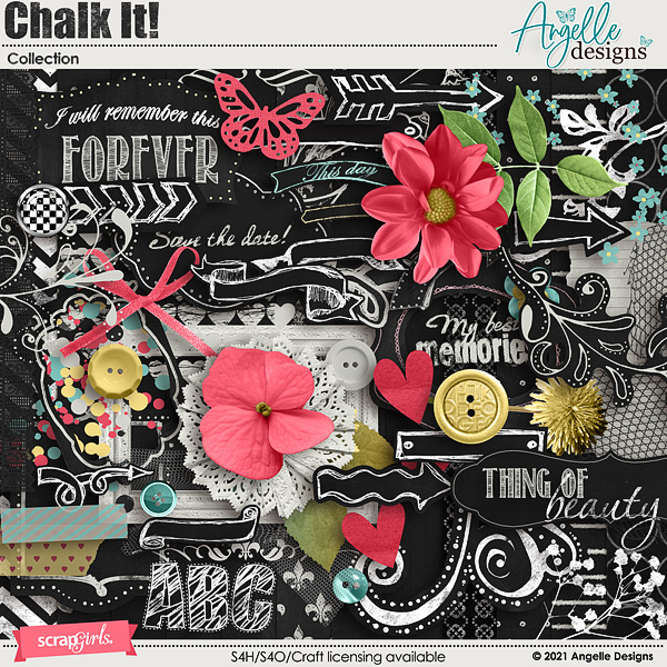 Chalk It! Collection by Angelle Designs