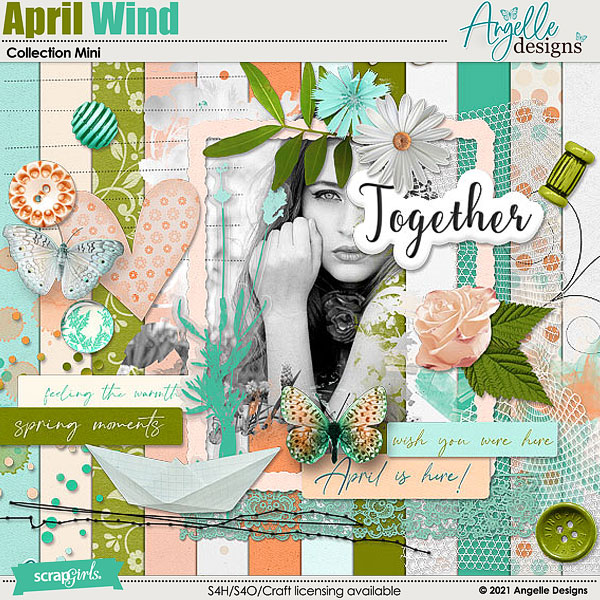 April Wind. Collection Mini by Angelle Designs