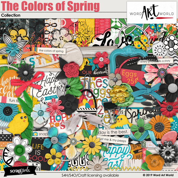 The Colors of Spring Collection
