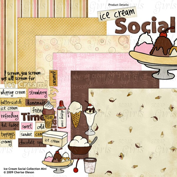 Ice Cream Collection Mini