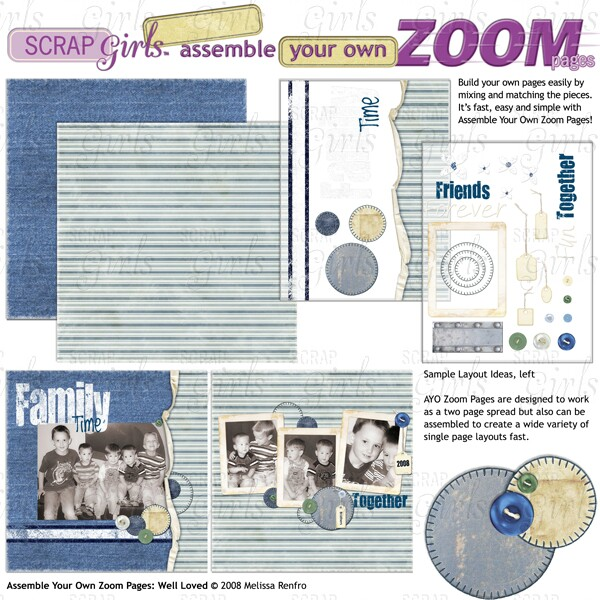 Assemble Your Own Zoom Pages: Well Loved