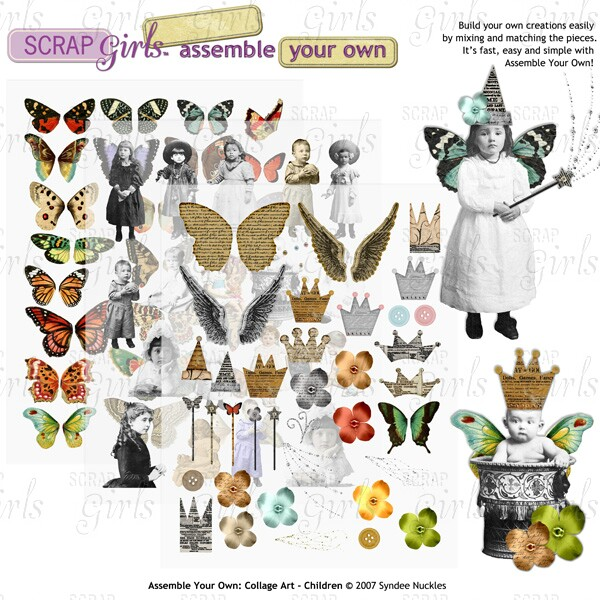 Assemble Your Own: Collage Art - Children