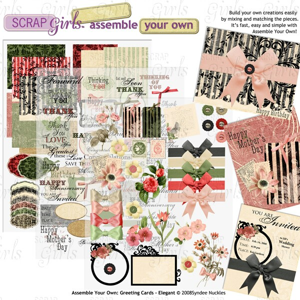 Also available Assemble Your Own: Greeting Cards - Elegant