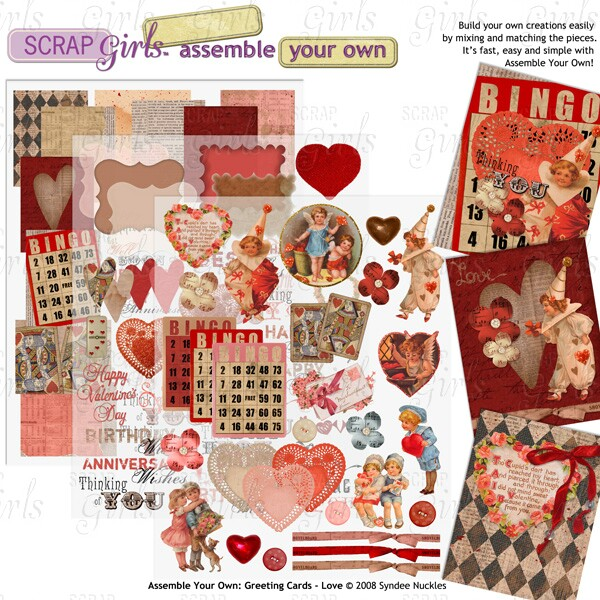 Also available Assemble Your Own: Greeting Cards - Love
