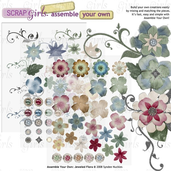 "<a href=""http://store.scrapgirls.com/p12150.php"">Assemble Your Own: Jeweled Flora</a>"