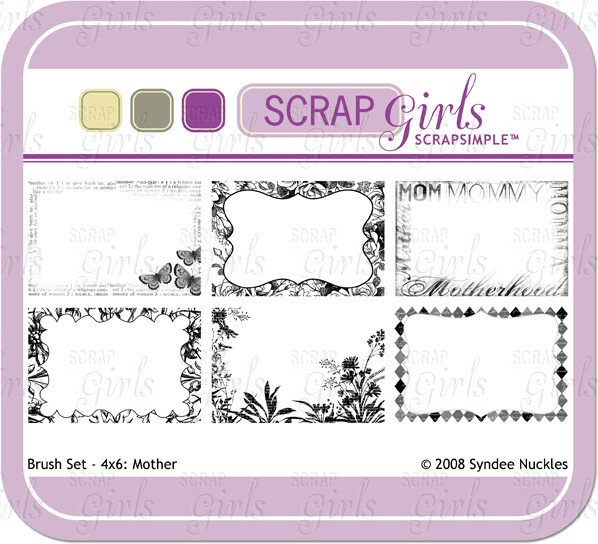 Also available Brush Set - 4x6: Mother