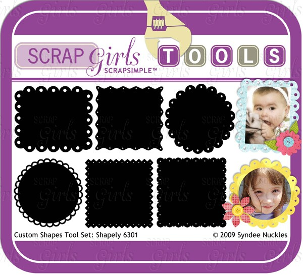 ScrapSimple Tools - Shapes: Shapely 6301