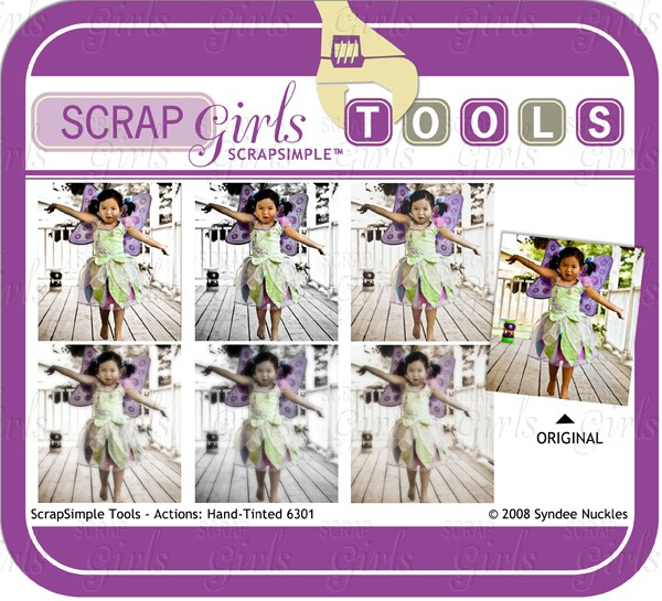 Also available: ScrapSimple Tools - Styless: Hand Tinted 6301