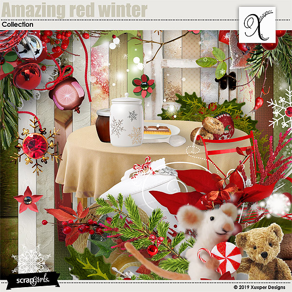 Amazing red winter Collection