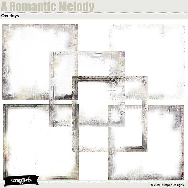 A romantic melody Overlays