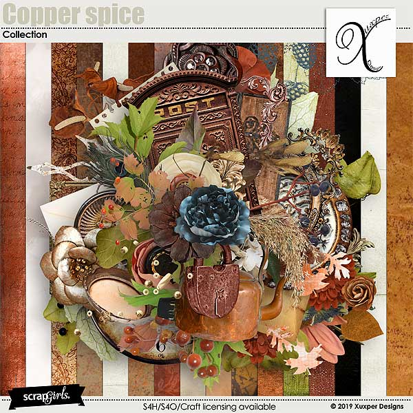 Copper spice 2 Collection