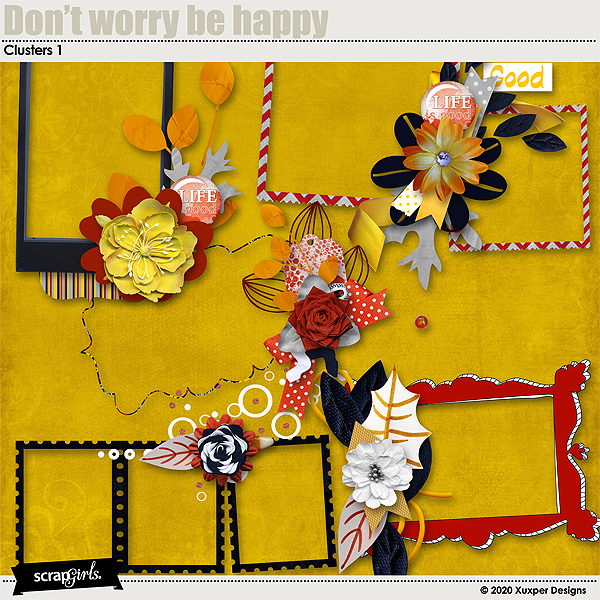 Dont worry be happy Clusters 1