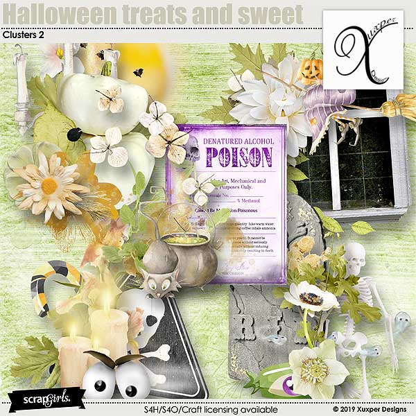 Halloween treats and sweet Clusters 2