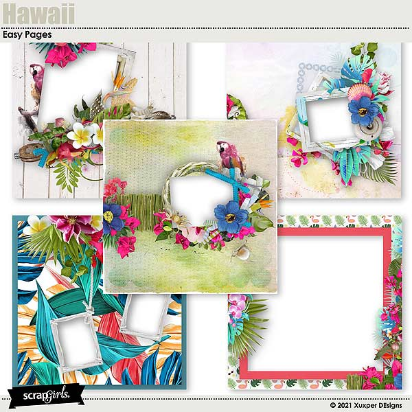Hawaii Easy pages