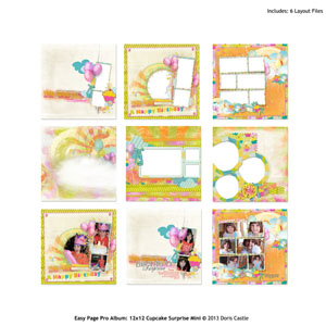Easy Page Pro Album: Cupcake Surprise Mini