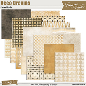 Deco Dreams Paper Biggie