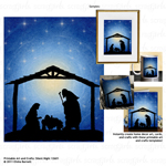 Printable Art and Crafts: Silent Night 12601