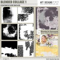 ScrapSimple Paper Templates: Blended Collage 1