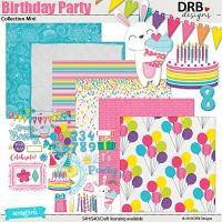 Birthday Party Collection Mini
