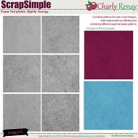 Scrapsimple Paper Templates: Slightly Grungy