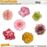 ScrapSimple Embellishment Templates: It's Nature Vol 4