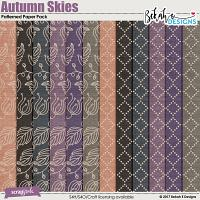 Autumn Skies - Patterned Paper Pack