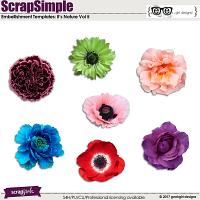 ScrapSimple Embellishment Templates: It's Nature Vol 5
