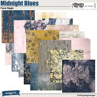 Midnight Blues Paper Biggie