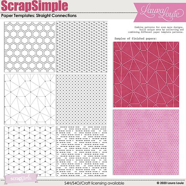 ScrapSimple Paper Templates